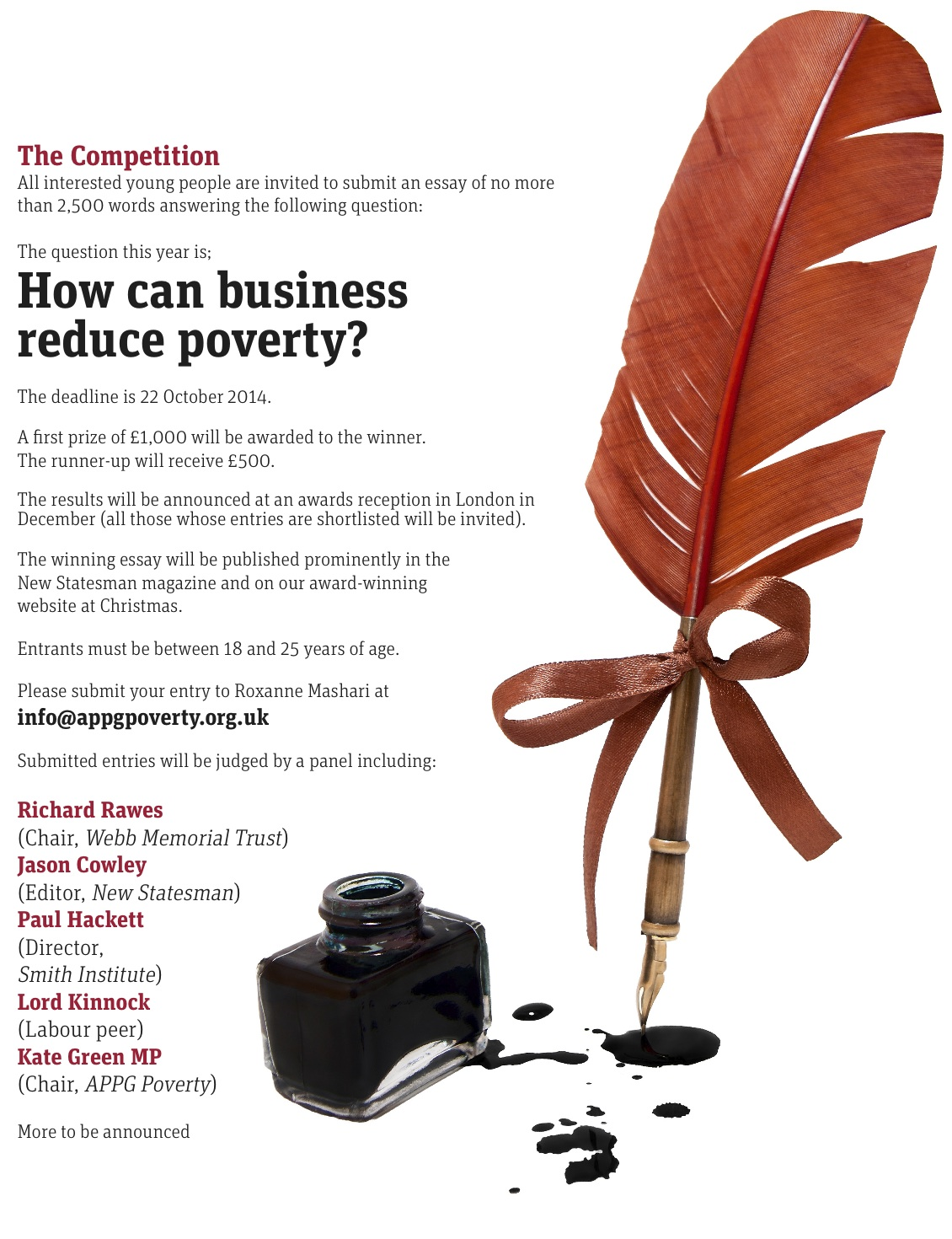 how can business reduce poverty annual essay competition webb posted on 08 sep 2014 categories uncategorized related tags