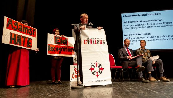 Is protest the new form of politics? Tyne & Wear Citizens offer a different model