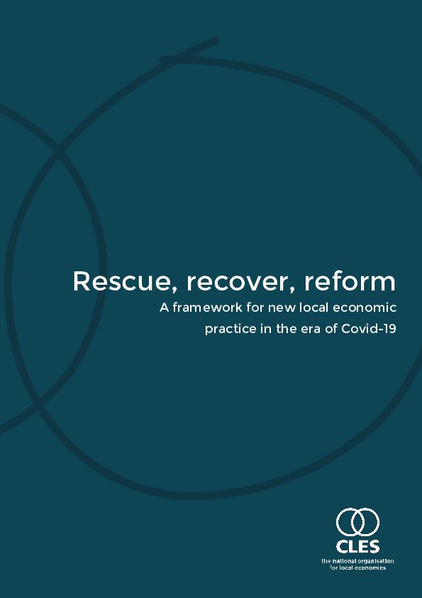 CLES' report on local economic development