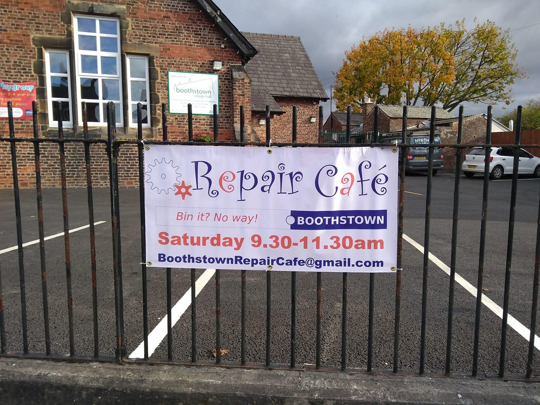 Boothstown repair café