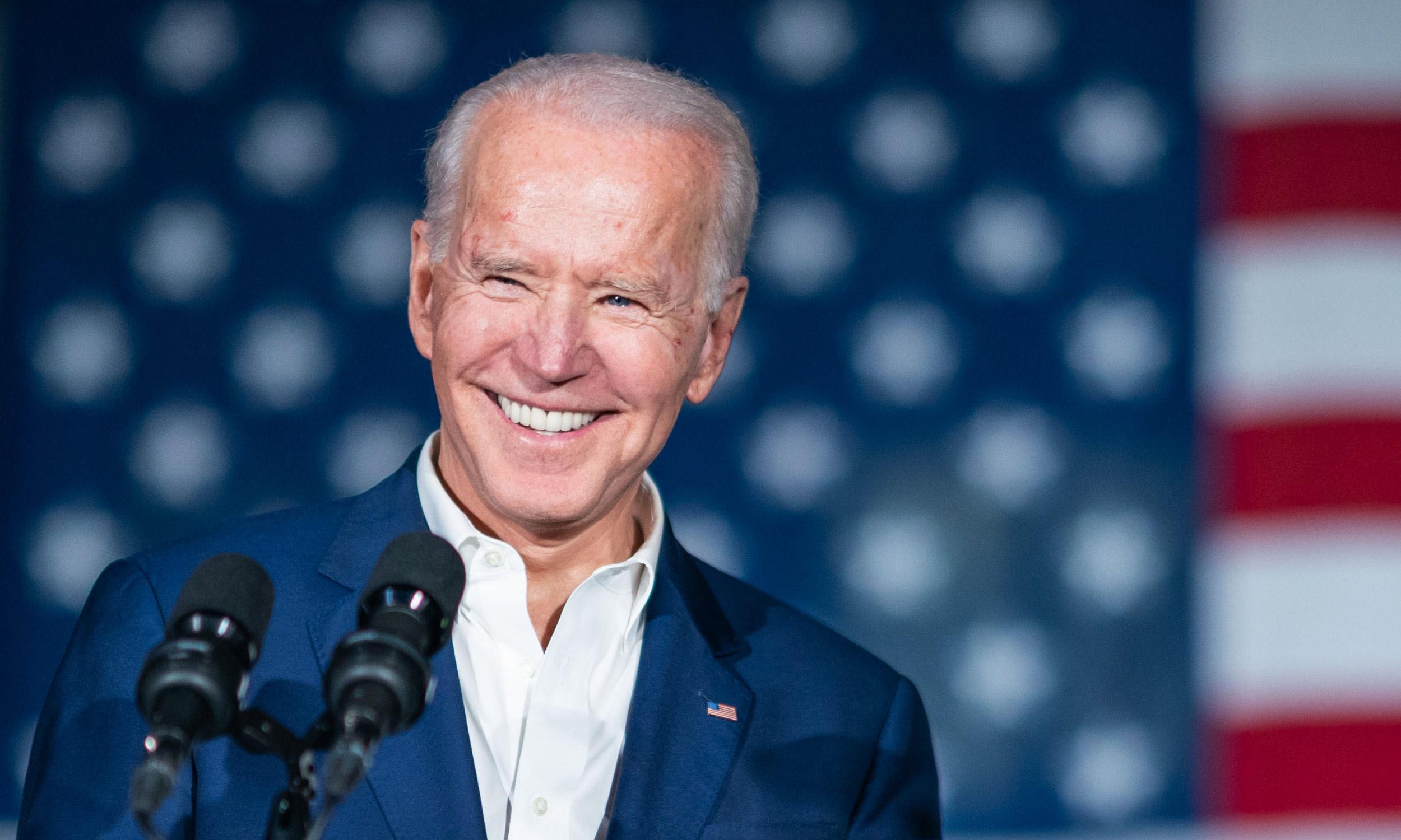 Joe Biden introduced the US stimulus package
