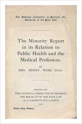 Beatrice Webb's Minority Report